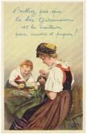 Illustrateur C. Liebich - Soie à Coudre GÜTERMANN - Nahseide - Naaigaren - Reklame - Publicité - Werbung - Publicité