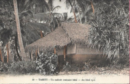 Tahiti - Un Endroit Vraiment Idéal An Ideal Spot Colorisée - Tahiti