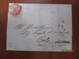 15c Rosso Su Lettera Da Venezia A Dolo, 1856 - Lombardy-Venetia