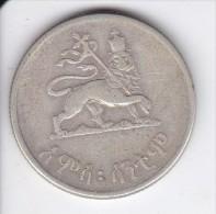 MONEDA DE PLATA DE ETIOPIA DE 50 CENTS DEL AÑO 1936  (COIN) SILVER,ARGENT. - Etiopía