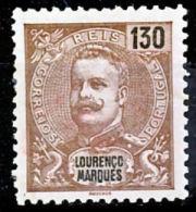 !■■■■■ds■■ L.Marques 1903 AF#75* Mouchon New Colors 130 Réis (x2883) - Lourenco Marques