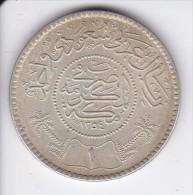 MONEDA DE PLATA DE ARABIA SAUDITA DE 1 RIYAL DEL AÑO 1935 (1354) (COIN) SILVER,ARGENT. - Arabia Saudita