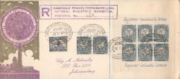 "National Philatelic Exhibition - Pretoria 18 10 1948 - Bloc :  ""Register Valuable Letters ´ Registered Mail Nb 26 - Storia Postale"