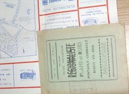 Map Carte Plan Des Rues De Roissy En Brie Et Pontault Combault Seine Et Marne - Guide Indicateur Notre Contrée - Geographical Maps
