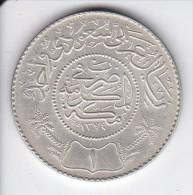 MONEDA DE PLATA DE ARABIA SAUDITA DE 1 RIYAL DEL AÑO 1954 (1374) (COIN) SILVER,ARGENT. - Arabia Saudita