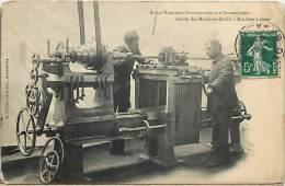 -depts Div.-ref- EE898 - Nord - Armentieres - Ecole Nationale Professionnelle - Atelier Machines Outils - Ecoles - - Armentieres