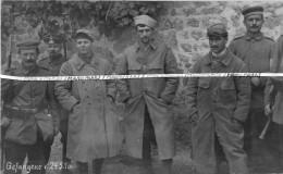 14-18 / CARTE PHOTO / 82e RI ( TROYES / MONTARGIS ) / DÉSERTEURS  / MAI 1916 / ARGONNE / 82e RÉGIMENT D' INFANTERIE - Oorlog, Militair