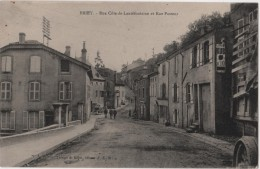 CPA 54 BRIEY  Rue Cote De Lantéfontaine Et Rue Pasteur - Briey