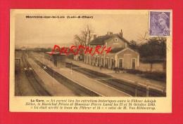Loir Et Cher - MONTOIRE SUR LE LOIR - La Gare - Entretiens Adolph Hitler Et Pétain -Laval ... Ribbentrop ... - Montoire-sur-le-Loir