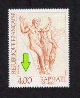 Variétés **NEUF** 2264 Vénus Et Psyché De Raphael + Informations Variété - Varietà: 1980-89 Nuovi