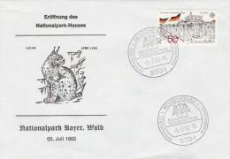 1983 LYNX CAT Pic  EVENT COVER Neuschonau GERMANY Stamps Linx - Felinos