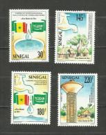 Sénégal N°939 à 942 Neufs Avec Trace De Charnière* Cote 5.75 Euros - Senegal (1960-...)