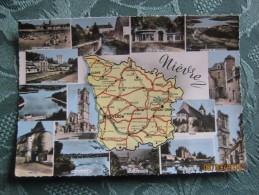 Nievre - Carte Geografiche