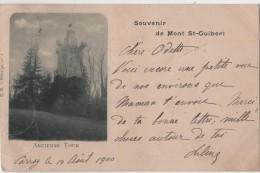 CPA Souvenir De Mont St-Guibert Ancienne Tour - Mont-Saint-Guibert