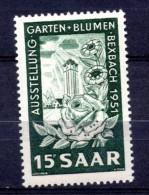 SARRE. AÑO 1951. Mi 307. (MH) - 1947-56 Protectorate