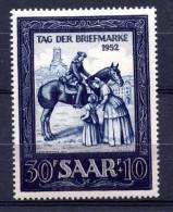 SARRE. AÑO 1952. Mi 316. (MH) - 1947-56 Protectorate