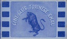 "03987 ""CINE CLUB TORINESE ENAL - TESSERA 00020-1956"" TESSERA SOCIO - Biglietti D'ingresso"