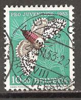 Schweiz 1953 // Mi. 589 O (030..176) - Gebruikt