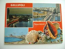 GALLIPOLI    SOUVENIR     LECCE  VIAGGIATA  COME DA FOTO - Lecce