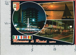 CARTOLINA NV ITALIA - MIRAMARE DI RIMINI - Vedutine - Notturno - 10 X 15 - Rimini