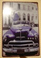 CHEVROLET CUBA AUTOMOBILE - TIN SIGNS - Plaque Métallique Publicitaire Décorative - Plaques Publicitaires