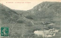Cpa -     Carolles  -  La Vallée De La Lude ,la Croisette   ,animée                     D320 - Autres Communes