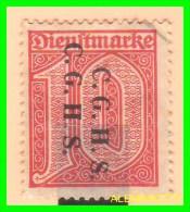 GERMANY - 1921 SELLO  SERVICIO DIENSTMARKE GOUVERNEMENT ALTA SILÉSIE - Coordination Sectors