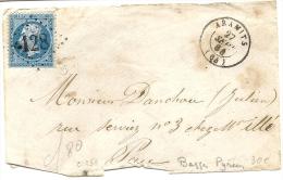 NIèvre - Aramits. GC + CàD Type 15. Indice 12 - 1849-1876: Classic Period