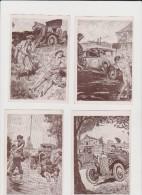 CONRAD Les Incidents De La Route Lot De 10 Cartes Postales - Conrad