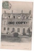 BERNAY - ( Eure ) - Rue De La Comédie - Pensionnat De Mademoiselle  MERCHEZ - Bernay