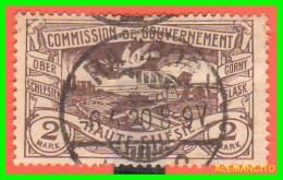 GERMANY - 1921 SELLO  COMMISSIÓN DE  GOUVERNEMENT ALTA SILÉSIE - Zona Francesa