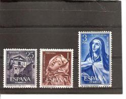 España/Spain-(MNH/**) - Edifil  1428-30 - Yvert 1093-95 - 1961-70 Neufs