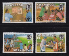 SWAZILAND, 1990, Mint Never  Hinged Stamps, Education, 571-574, #6793 - Swaziland (1968-...)