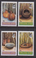 SWAZILAND, 1993, Mint Never  Hinged Stamps, Pottery, 620-623, #6803 - Swaziland (1968-...)