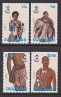 SWAZILAND, 1996, Mint Never  Hinged Stamps, Traditional Dresses,  #6812 - Swaziland (1968-...)