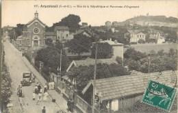 ARGENTEUIL RUE DE LA REPUBLIQUE PANORAMA D'ORGEMONT 95 - Argenteuil
