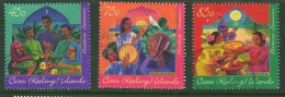 Cocos Keeling Islands 1996 Festive Season Set Fine Used - Cocos (Keeling) Islands
