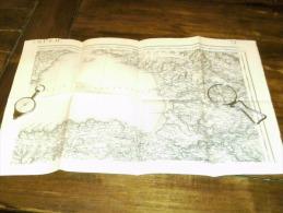 QUIMPER ..  Carte Topographique De 1889 N° 72/2 - Topographical Maps