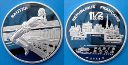 FRANCE 1,5 E 2003 ARGENTO PROOF FRANCE EURO SAUTER PARIS 03 SAINT DENIS ATHTLETICS PESO 22,2g TITOLO 0,900 CONSERVAZIONE - France