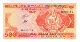Reserve Bank Of Vanuatu, 500 Vatu. UNC. - Vanuatu