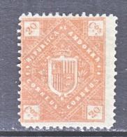 ANDORRA  XIII  *   UNLISTED  LOCAL - Spanish Andorra