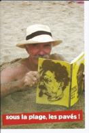 NPA - NOUVEAU PARTI ANTICAPITALISTE - Sous La Plage Les Pavés ! Chapeau Panama Livre TROTSKY - CPM 2010 - Labor Unions