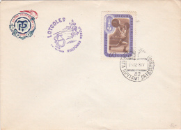 Russia 1981 Sport Weightlifting Cover - Weightlifting