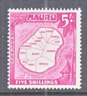 NAURU  47     *   MAP - Nauru