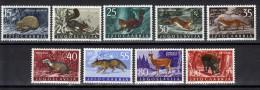 Yufoslavia,Fauna-Forest Animals 1960.,MNH - 1945-1992 Socialist Federal Republic Of Yugoslavia