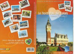 France Collector 2011 ** Nord Pas De Calais Carnaval Dunkerque Wissant Boulogne Valenciennes Euralille Galoche - Collectors