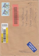 Austria 20089 - Lettera.racc.   X L´Italia Affrancata Con 2 Stamps - 1945-.... 2a Repubblica