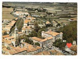 04490-LE-13-LA ROQUE-d' ANTHERON-Vue Aérienne Sur Le Centre Ville -Son Château (centre Médical De Diététique) - Autres Communes