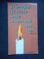 """IMAGE COMMUNION """"Xavier TRAN VAN - 1970"""" - (Carmel De MONTELIMAR 215 - Seigneur Je Crois Mais Augmente Ma Foi) - Religion & Esotericism"""