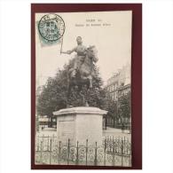 Paris  Statue De Jeanne D' Arc - Statues